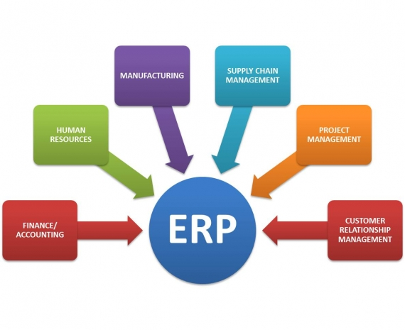 Few major ERP players in market